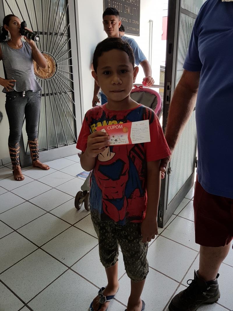 CAMPANHA DO NATAL - SORTEIO DO DIA 05/01/2019 E ENTREGA DOS PRÊMIOS