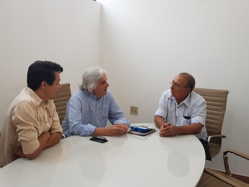 REUNIÃO SOBRE A ECONOMIA DA REGIÃO FRONTEIRA