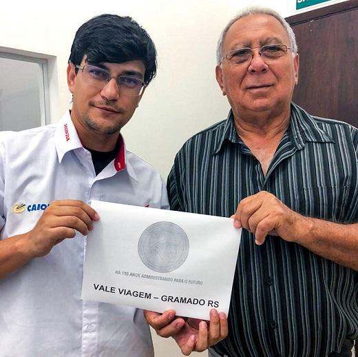RESULTADO DO SORTEIO DA VIAGEM A GRAMADO - RS