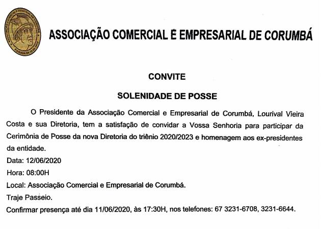 CERIMONIA DE POSSE